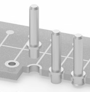 Press-fit holes (plated through holes)